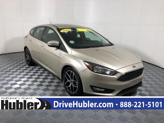 Pre-Owned 2018 Ford Focus SEL Hatch