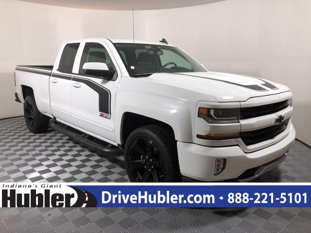 Pre Owned 2017 Chevrolet Silverado 1500 4wd Double Cab 143 5 Lt W 2lt