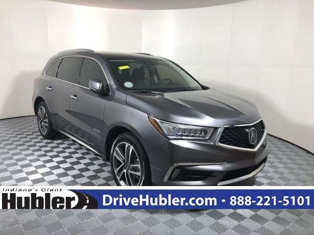 Pre Owned 2017 Acura Mdx Sh Awd W Advance Pkg