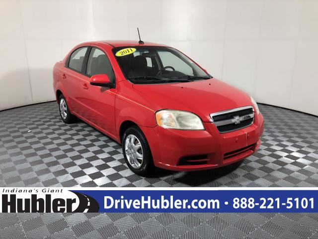 Pre-Owned 2011 Chevrolet Aveo 4dr Sdn LS