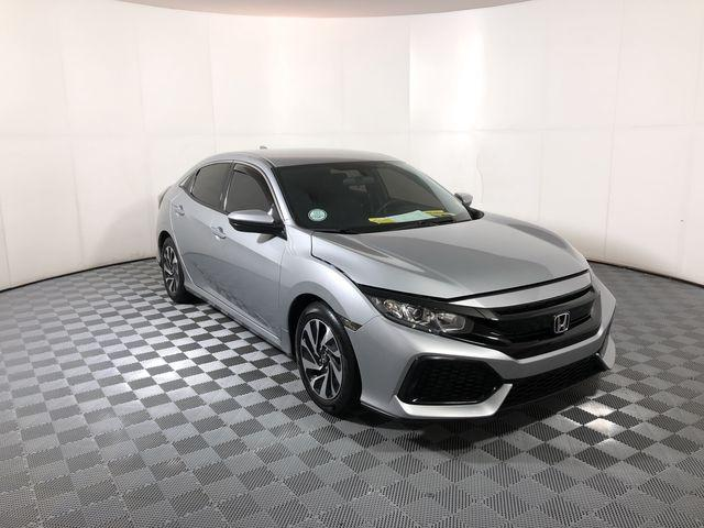 Pre-Owned 2017 Honda Civic Hatchback LX CVT