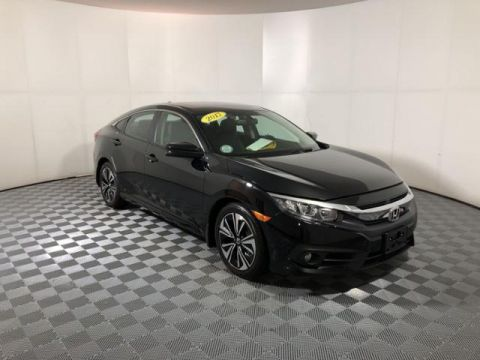 Pre-Owned 2017 Honda Civic EX-L CVT w/Navigation