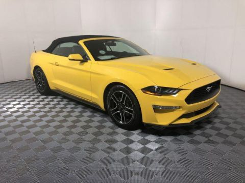 Pre-Owned 2018 Ford Mustang EcoBoost Premium Convertible