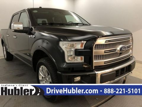 Pre-Owned 2017 Ford F-150 Platinum 4WD SuperCrew 6.5' Box
