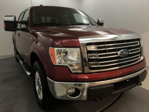 Pre-Owned 2014 Ford F-150 4WD SuperCrew 145 Lariat