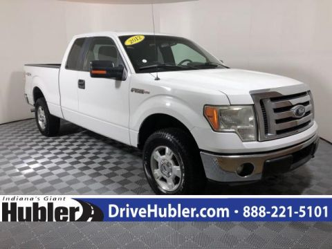 Pre-Owned 2012 Ford F-150 4WD SuperCab 163 XLT
