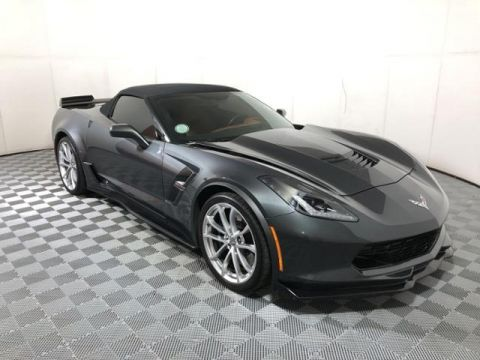 Pre-Owned 2017 Chevrolet Corvette 2dr Grand Sport Conv w/3LT