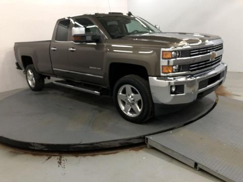 Pre-Owned 2015 Chevrolet Silverado 2500HD 4WD Double Cab 158.1 LTZ