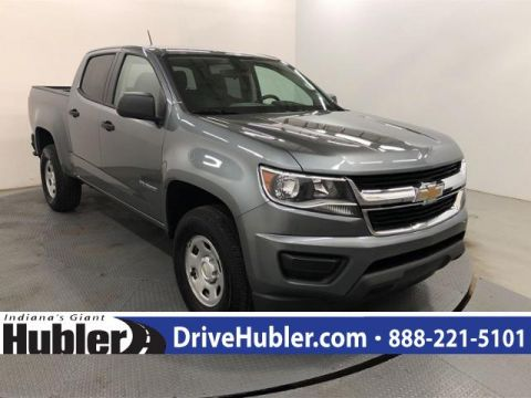 Pre-Owned 2019 Chevrolet Colorado 2WD Crew Cab 128.3 Work Truck