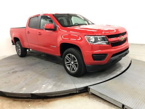Pre-Owned 2019 Chevrolet Colorado 4WD Crew Cab 140.5 Work Truck
