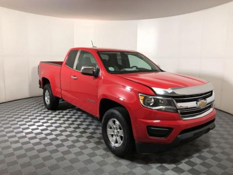 Pre-Owned 2016 Chevrolet Colorado 2WD Ext Cab 128.3 WT