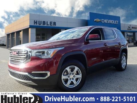 Pre-Owned 2018 GMC Acadia FWD 4dr SLE w/SLE-1