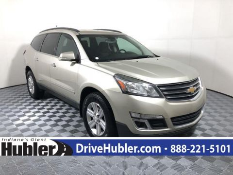 Pre-Owned 2013 Chevrolet Traverse FWD 4dr LT w/1LT