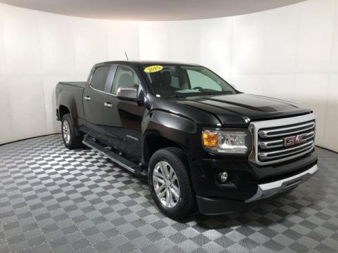 Pre-Owned 2015 GMC Canyon 4WD Crew Cab 140.5 SLT