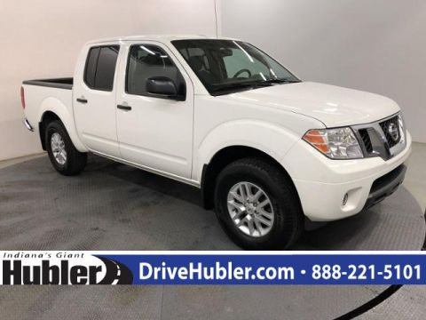 Pre-Owned 2017 Nissan Frontier 2017.5 Crew Cab 4x4 SV V6 Auto