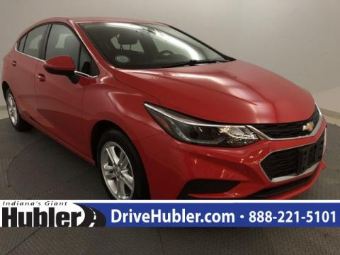Pre-Owned 2018 Chevrolet Cruze 4dr HB 1.4L LT w/1SD