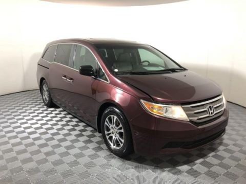 Pre-Owned 2011 Honda Odyssey 5dr EX-L w/RES
