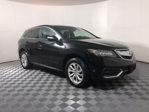 Pre-Owned 2017 Acura RDX AWD w/Technology Pkg