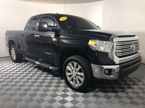Pre-Owned 2014 Toyota Tundra Double Cab 5.7L FFV V8 6-Spd AT LTD
