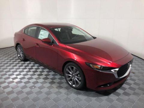 New 2019 Mazda3 AWD w/Select Pkg
