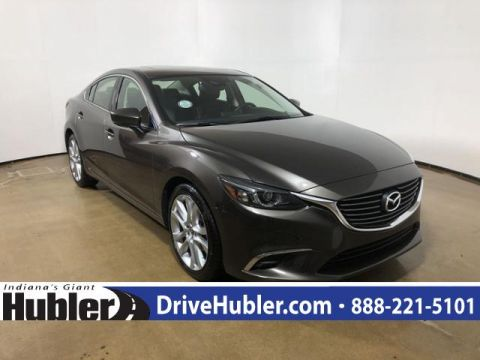 Certified Pre Owned 2017 Mazda6 2017.5 Touring Auto