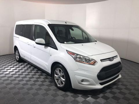 Pre-Owned 2015 Ford Transit Connect 4dr Wgn LWB Titanium w/Rear Liftgat